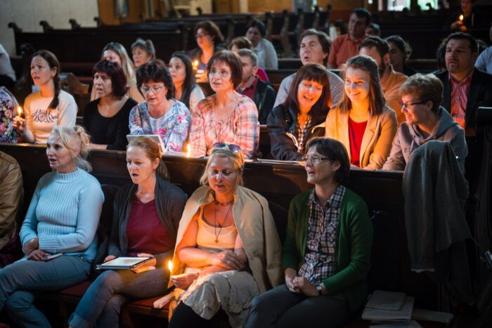 Modlitba Taizé u evanjelikov